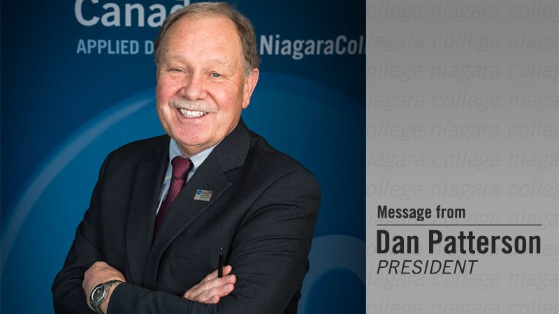 Message from Dan Patterson: 2018-19 Budget invests in people, learning resources